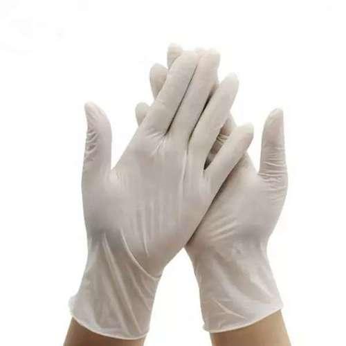Latex examination hand medical Glove for hospital