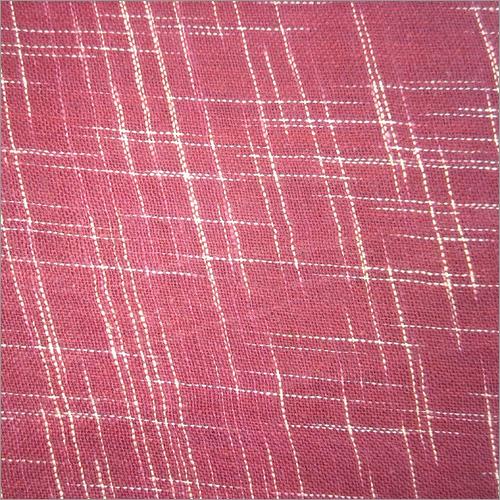 Natural Khadi Cross Fabric