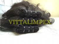 Natural Machine Weft Hair