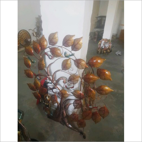 Decorative Iron Wall Panel Tree