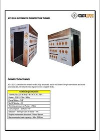 Full Body Sanitizer Machine