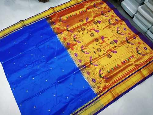 Dot Paithani Saree