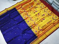 Ladies Silk Paithani Saree