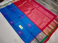 pure silk meena butta soft silk saree