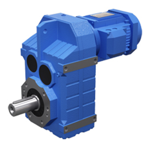3 stage 0.12-200 kw Parallel Shaft Helical Gear Reducer