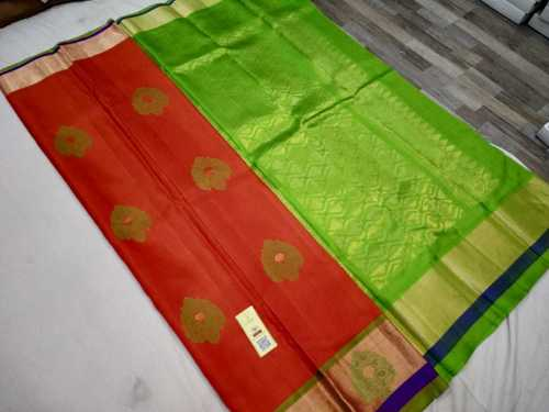 pure silk meena butta saree