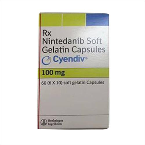100 MG Nintedanib Soft Gelatin Capsule