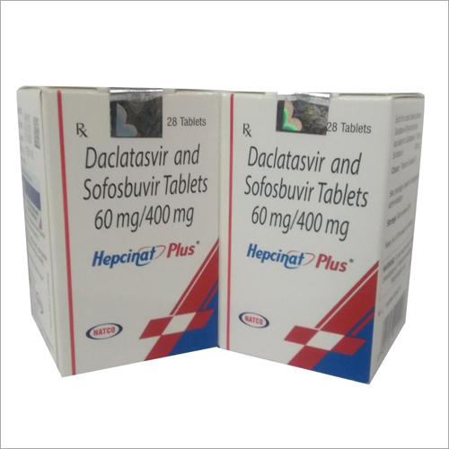 60 MG Daclatasvir And Sofosbuvir Tablet