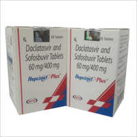 60 MG Daclatasvir And Sofosbuvir Tablet