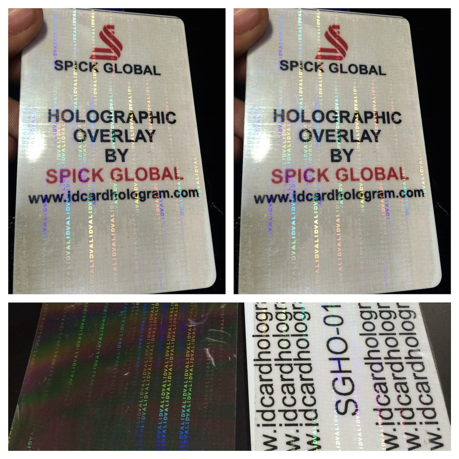 Hologram Id Card Transparent