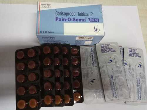Pain O Soma 500 Mg Tablets