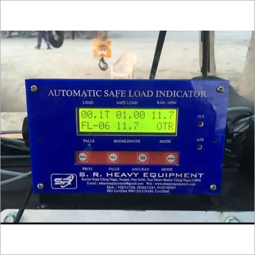 Boom Lift Load Indicator