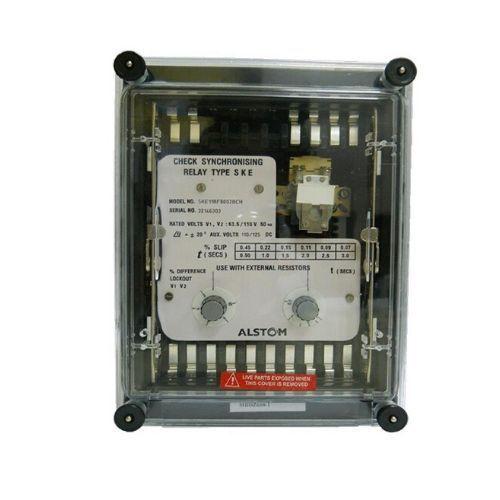 GE / Alstom check Synchronising Relay SKE11BF8003