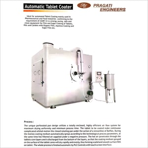 Automatic Tablet Coater