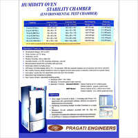 Humidity Oven Stability Chamber