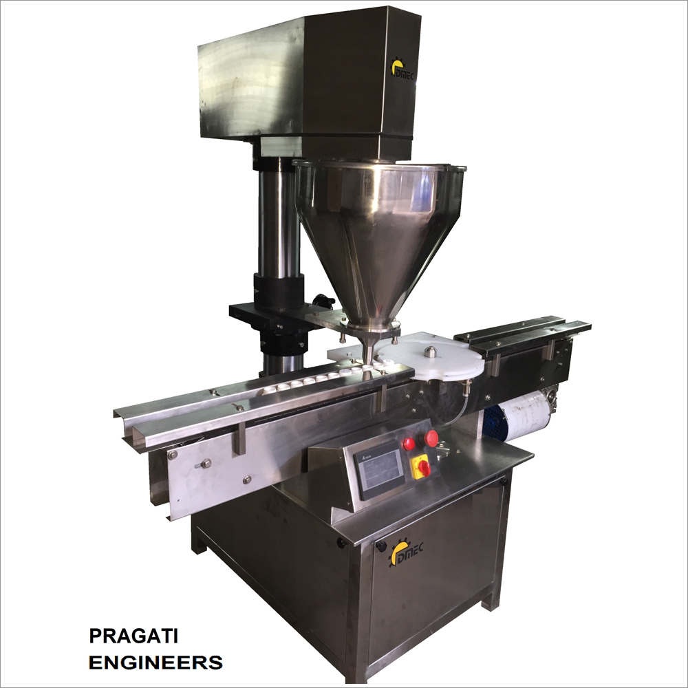 Single Head Auto Powder Filling Machine