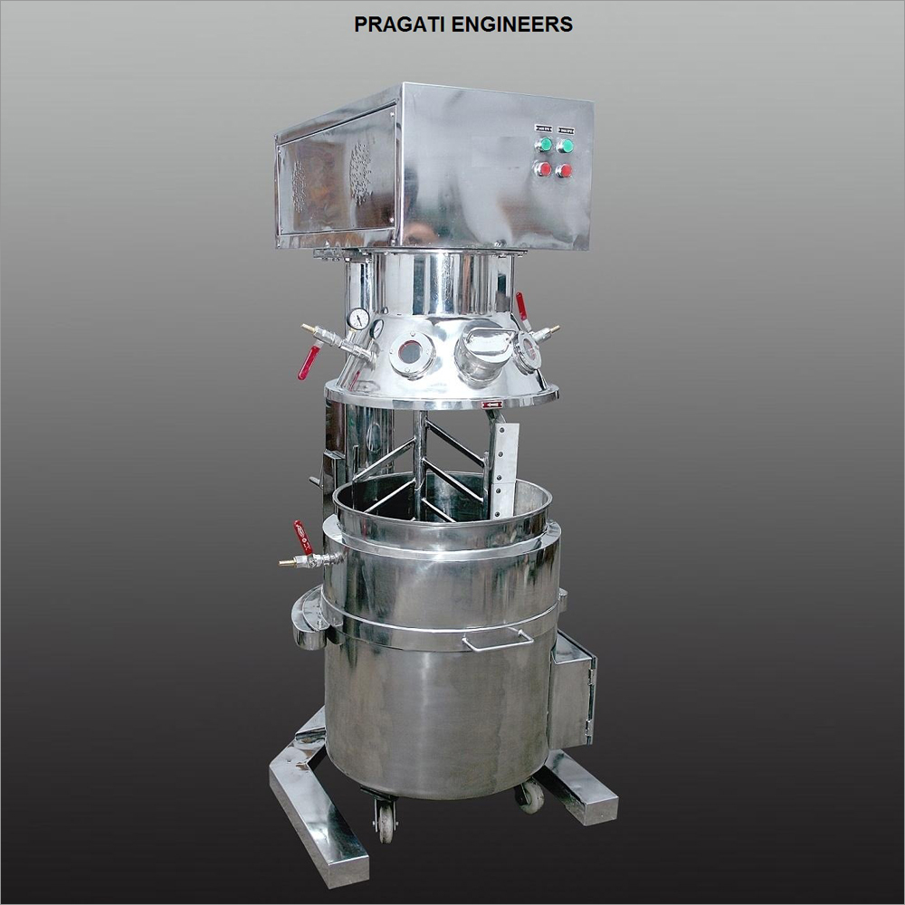 Planetary Mixer Jacketed
