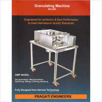 Horizontal Oscillating Granulator