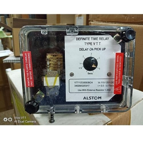 ALSTOM Definite Time Delay Relay VTT11ZG8180BCH