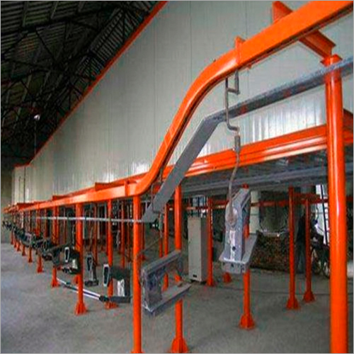 Metal Product Painting Line For Vacuum Metalizing Machine