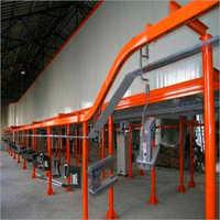 Metal Product Painting Line For Vacuum Metalizing Machine