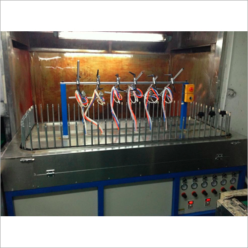 Semi Automatic Spray Painting Machine