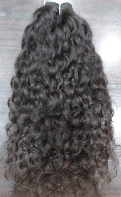 Indian Remy Virgin Natural Curly Human Hair