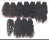 Virgin Black Wavy Raw Unprocessed Human Hair
