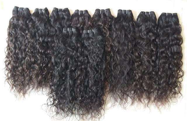 Natural Color Deep Curly Human Hair