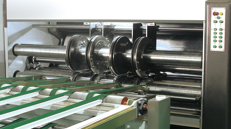 Automatic Flexo Printer Slotter Die Cutting Stacker Folder Gluer