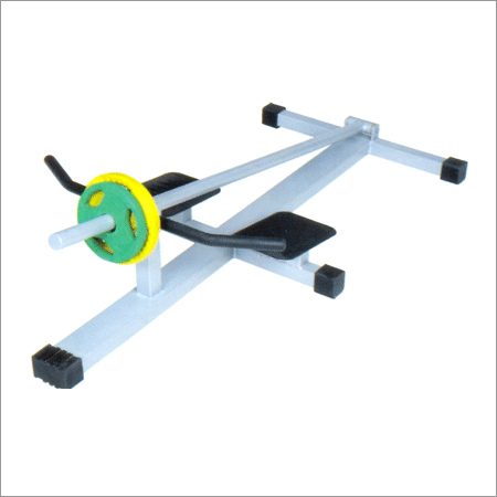 Iron T-Bar Rowing Machine Plate Loaded