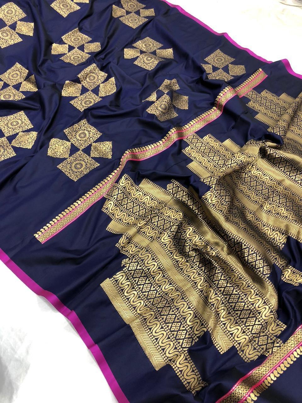 SOFT Banarsi Silk SAREE