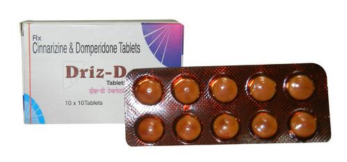 Cinnarizine And Domperidone