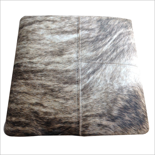 Hair On Leather  Cushions Cover