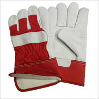 Cow Hide Chrome Leather Canadian Gloves
