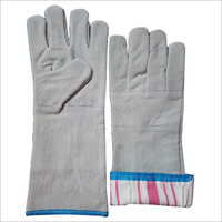 Palm Split Leather Gloves