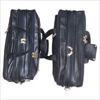 Five Compartment Leather Laptop  Bag