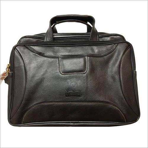 Genuine Original Leather Laptop 3 Compartments  Bag