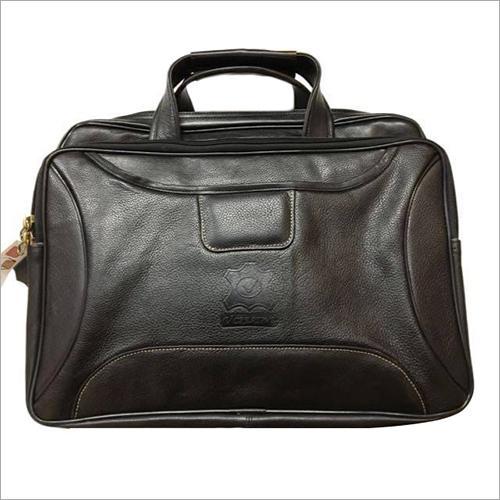 Genuine Original Leather Laptop 3 Compartments  Bag