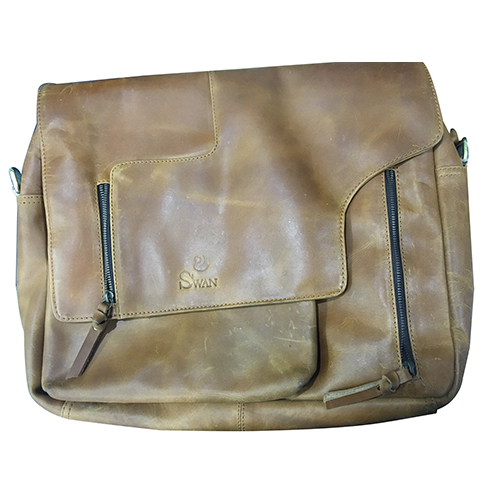 Handmade Craft Vintage Leather Laptop Bag