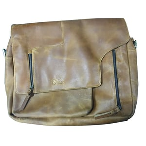 Handmade Craft Vintage Leather Laptop Bag