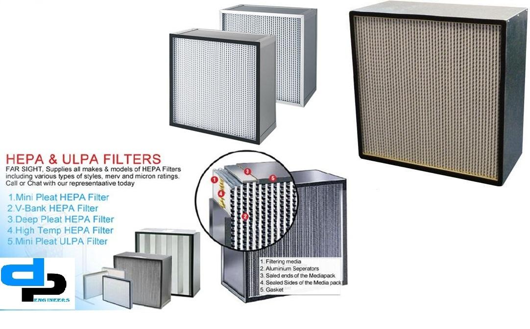 0.3 Aluminium HEPA Filter