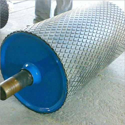 Drum Roller With Lag Sheet