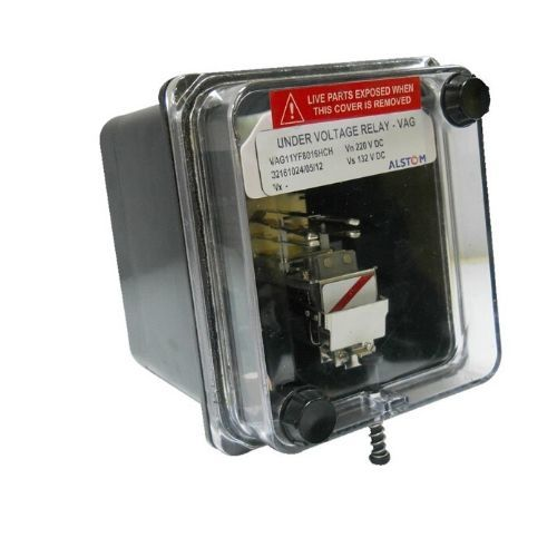 Alstom Voltage Protection relay VAG11YF8015FCH 110V DC