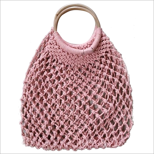 Ladies Macrame Hand Bag