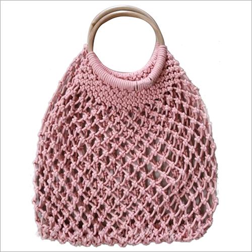 Ladies Macrame Hand Bag