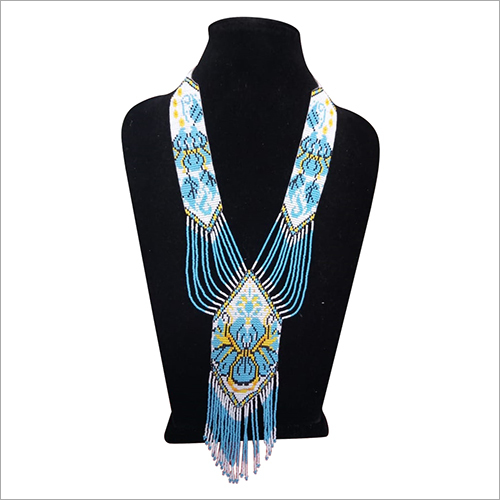 Ladies Long Beaded Necklace