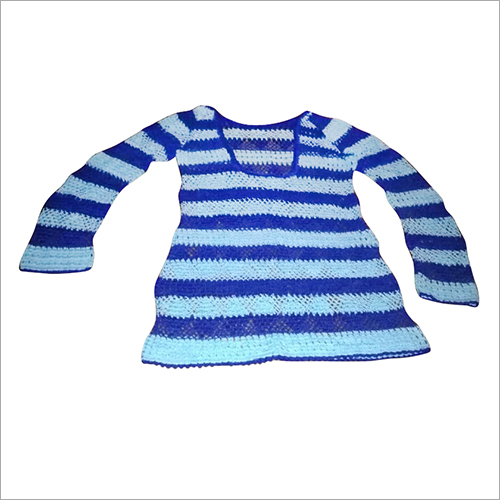 Kids Macrame Frock Top