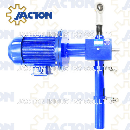5 ton screw actuators electric 1100mm with two speed electrical motor operated jacks