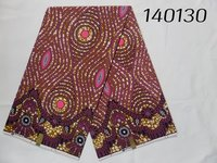 Polyester African Prints Cotton Feel Fabric